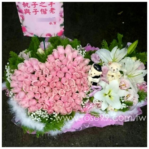 E006結婚盆花 1