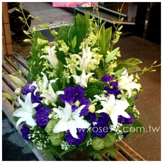 E007秀雅盆花 1